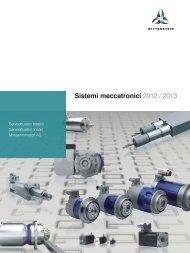 Sistemi meccatronici 2012 / 2013 - WITTENSTEIN alpha
