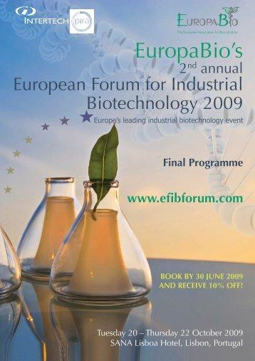Programme - Greenchem