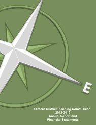 View Report - Eastern District Planning Commission
