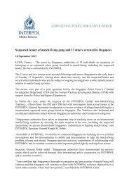 Interpol Press Release - Frank-CS.org
