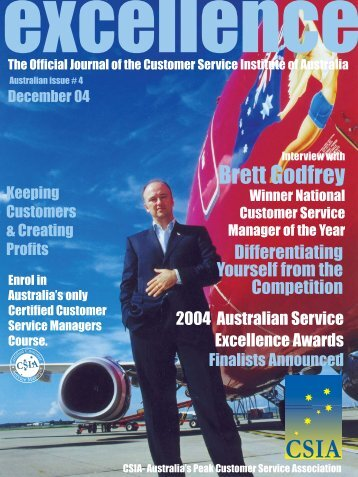 Issue 4 - Customer Service Institute of Australia