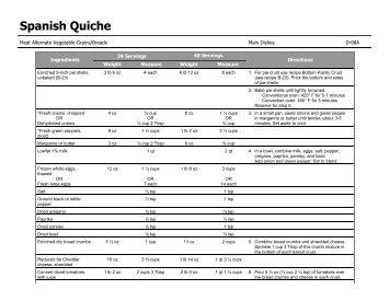 D-08A: Spanish Quiche