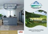 GROENTESOEP MET BALLEN? - Oosterhoutse Golf Club