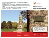 Download PDF Brochure for Lay Students - St. Peter's Seminary