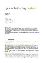 Ausgabe 13 Juni 2012 Inhalt: Info / Beratung Psychische ...