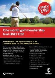 CG=April Membership Campaign Bristol 2pp A5 Flyers=Mar12 ...
