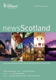 01044 NewsScotland 28 A/W - Scottish Convention Bureau
