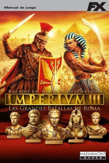 Imperivm III - Manual - FX Interactive