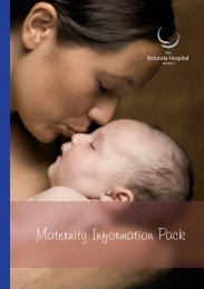 Maternity Information Pack - Rotunda Hospital