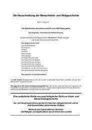 Die Neuschreibung der Menschheits - Die Lügen dieser Welt mit 33 ...