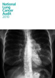 National Lung Cancer Audit Report 2010 - HQIP