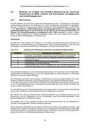 2.6 Methoden zur direkten und indirekten Bestimmung der räumlichen