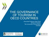 The Governance of Tourism in OECD Countries