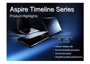 Aspire Timeline Series - Laptop Centar