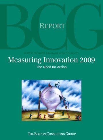 Measuring Innovation 2009: The Need for Action