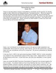 Sam mbad Bichitra - BASC - Bengali Association of Southern ...
