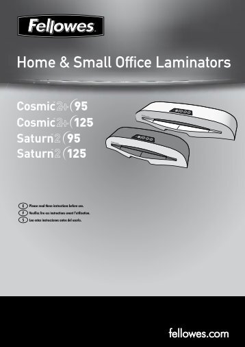 Home & Small Office Laminators - Presentations Direct