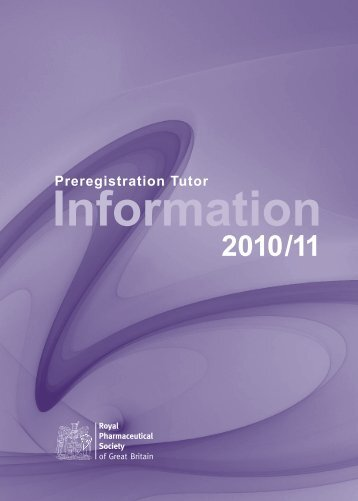 Tutor Information 2b m.pdf - General Pharmaceutical Council