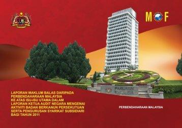Laporan Maklum Balas Daripada Perbendaharaan Malaysia Ke ...