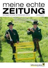 Ausgabe 02/2011 (pdf) - Raiffeisenbank Leibnitz