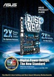 Digital Power Design: The New Standard - Asus