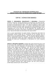 ESTATUTS RADIO.pdf - Ajuntament de Lloret de Mar