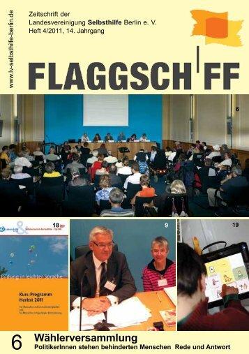 Wählerversammlung - Landesvereinigung Selbsthilfe Berlin eV