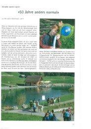 «50 Jahre anders normal» - Insieme Luzern