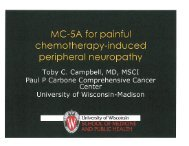 MC-5A for Painful Chemotherapy-induced Peripheral Neuropathy