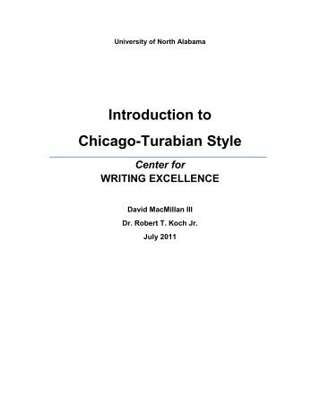 university of chicago style The ohio state university librarie s2 of style, 16th edition (available on reserve at the science and engineering library) the chicago manual of style.