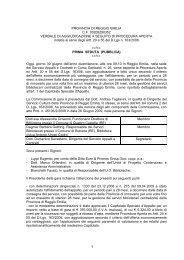 VERBALI DI GARA.pdf - Provincia di Reggio Emilia