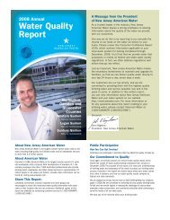 Water Quality Report - American Water