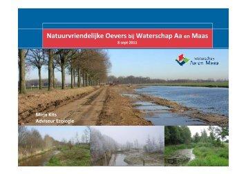 Natuurvriendelijke Oevers bij Waterschap Aa en ... - VeldwerkPlaatsen