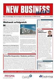 Weltweit erfolgreich - NEW BUSINESS News