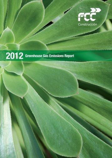 GHG Emissions Report 2012 - FCC Construcción