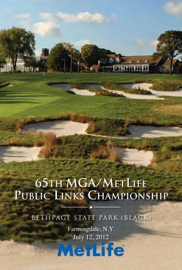 65th mga/metlife public links championship - Metropolitan Golf ...