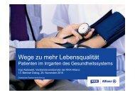 Wege zu mehr Lebensqualität - Vitafil.de