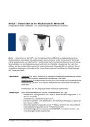 Modul 1 - Fachhochschule Nordwestschweiz