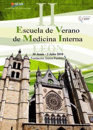 II Escuela Residentes - Sociedad Española de Medicina Interna