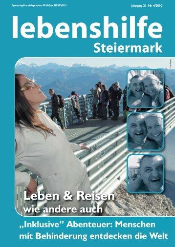 Leben & Reisen - Lebenshilfe Steiermark