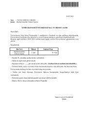 Mutfak Sanatları Tabela Yapımı - İzmir Ekonomi Üniversitesi
