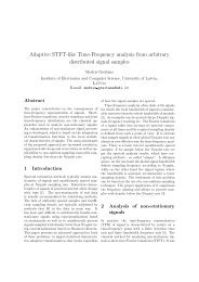 Adaptive STFT-like Time-Frequency analysis from arbitrary ...