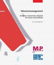 Wissensmanagement - Akademie Management und Politik