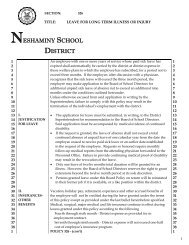 326 - Neshaminy School District