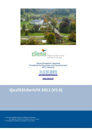 Clienia Privatklinik Littenheid Privatklinik für Psychiatrie und ...