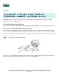 CISCO AIRONET 2.4 GHZ AND 5 GHZ ... - Gamma Solutions