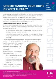 UNDERSTANDINg yOUR HOmE OxygEN THERApy - Chest Heart ...