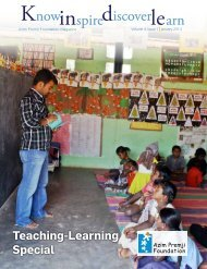 January 2014 issue - Azim Premji Foundation