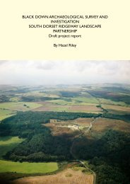 Archaeological Survey of Black Down2.75 MB - the Dorset AONB