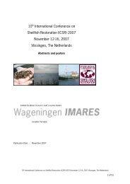 BOEK ICSR Abstracts en posters GEBUNDELD ... - Wageningen UR